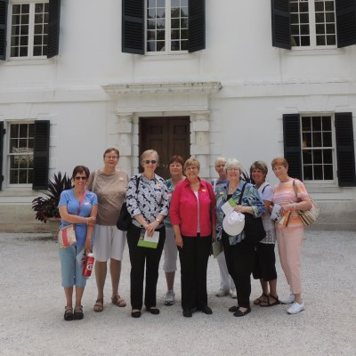 The NRC Women's Book Group (and Friends) visiting The Mount, home of American Novelist Edith Wharton in Lenox, MA - July 2013