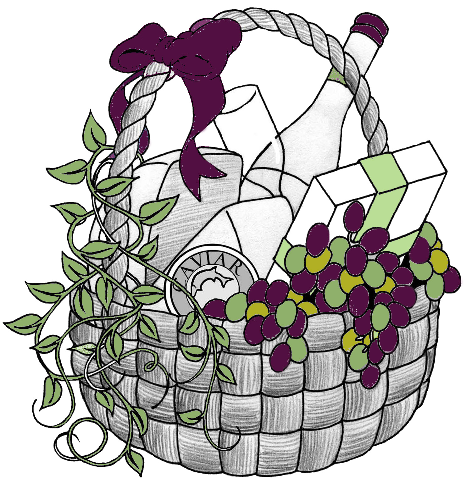 Gift basket png for baskets clipart free clip art images
