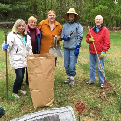 WFG Cemetery Clean-Up