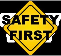 safety first sign niskayuna reformed church